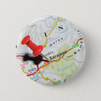 Sarajevo, Bosnia and Herzegovina 6 Cm Round Badge