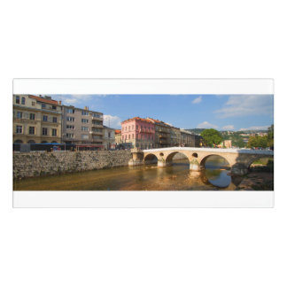 Sarajevo city, capital of Bosnia and Herzegovina Door Sign