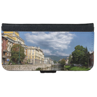 Sarajevo city, capital of Bosnia and Herzegovina iPhone 6 Wallet Case