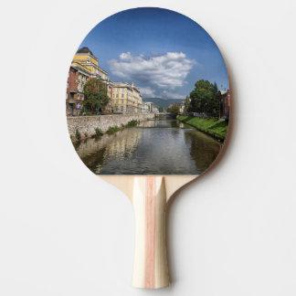 Sarajevo city, capital of Bosnia and Herzegovina Ping Pong Paddle