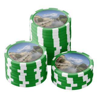 Sarajevo city, capital of Bosnia and Herzegovina Poker Chips