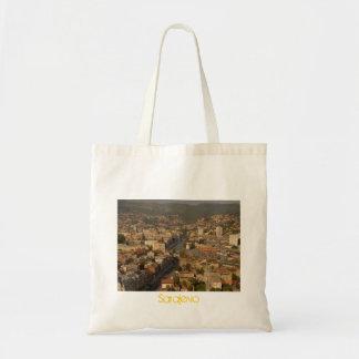 Sarajevo multicultural city tote bag