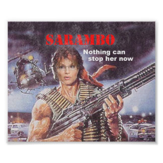 SARAMBO - Nothing Can Stop Her Poster