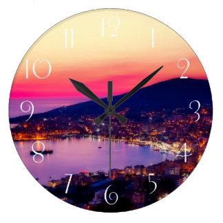 Sarande albania large clock