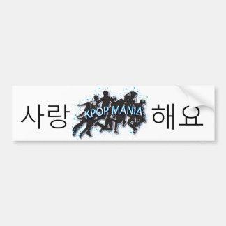 SARANG HAE YO KPOP MANIA Bumper Sticker