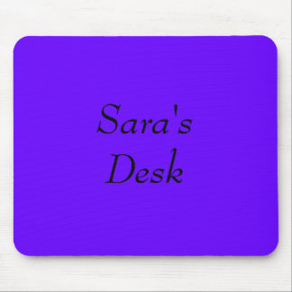 Sara's Mouse Pad