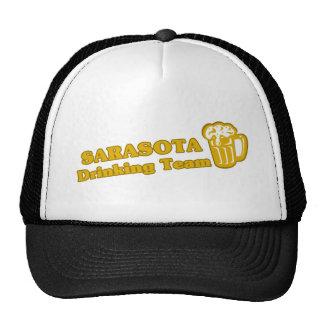 Sarasota Drinking Team tee shirts Trucker Hat