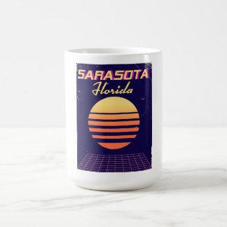 Sarasota Florida 1980s vintage travel print. Coffee Mug