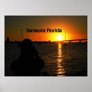 Sarasota Florida Sunset Poster