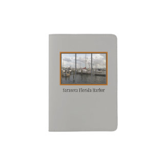 Sarasota Harbor Scenic Window Passport Holder
