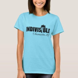 SARASOTA Indivisible women's t-shirt blk logo