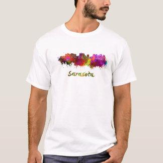 Sarasota skyline in watercolor T-Shirt