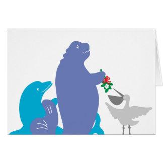 Sarasota Wildlife Seasons Greeting Card