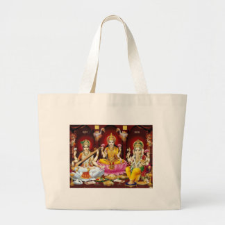 Saraswati, Lakshmi, & Ganesha Tote Bag