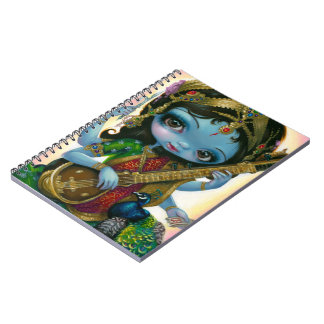 """Saraswati Playing Veena"" Notebook"