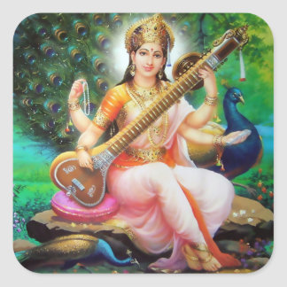 Saraswati Stickers - Version 1