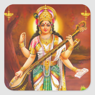 Saraswati Stickers - Version 2