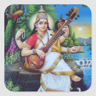 Saraswati Stickers - Version 3
