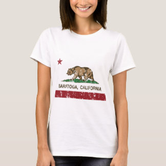 saratoga california flag T-Shirt
