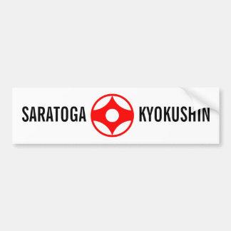 SARATOGA KYOKUSHIN BUMPERSTICKER BUMPER STICKER
