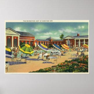 Saratoga Spa Recreation Unit View Poster