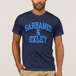 Sarbanes-Oxley T-shirts