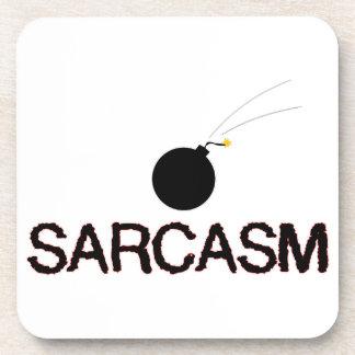 Sarcasm Bombed Coaster