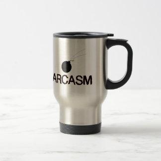Sarcasm Bombed Travel Mug