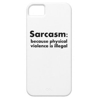 Sarcasm iPhone 5 Covers