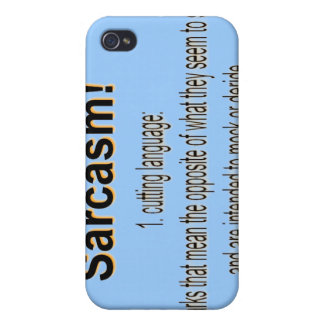 Sarcasm Cases For iPhone 4