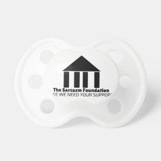 sarcasm foundation like we need your support shirt dummy