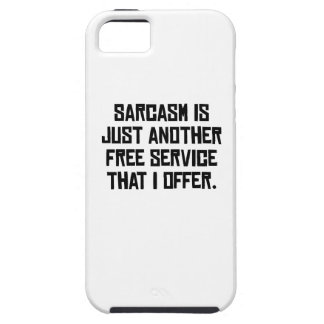 Sarcasm Free Service iPhone 5 Case