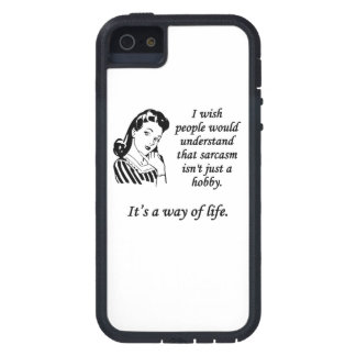 Sarcasm Is A Way Of Life iPhone 5 Cover