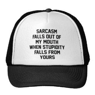 Sarcasm Stupidity Cap