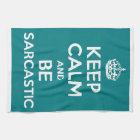 Sarcasm Tea Towel