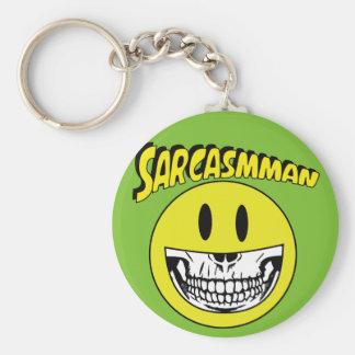 Sarcasmman Key Ring