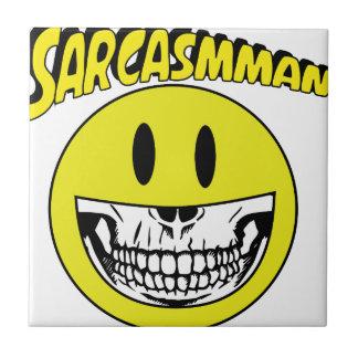 Sarcasmman Tile