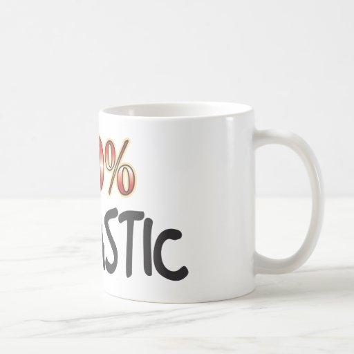 Sarcastic 100 Percent Coffee Mug