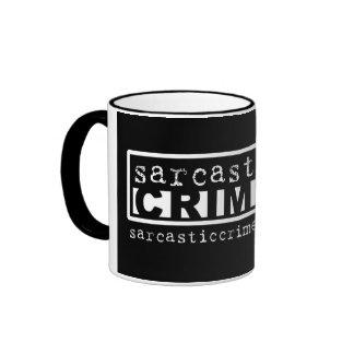 Sarcastic Crime Radio Mug