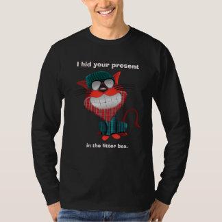 Sarcastic Hipster Cat T-Shirt