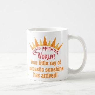 Sarcastic Sunshine Basic White Mug