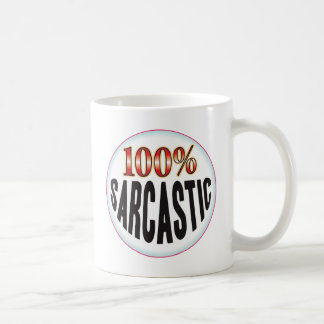 Sarcastic Tag Coffee Mugs