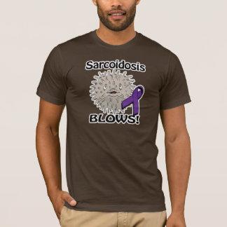 Sarcoidosis Blows Awareness Design T-Shirt