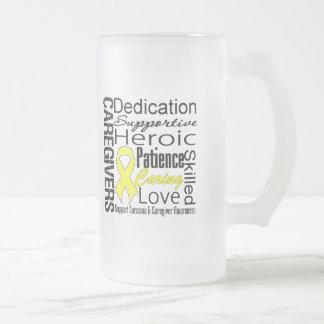 Sarcoma Caregivers Collage Coffee Mug