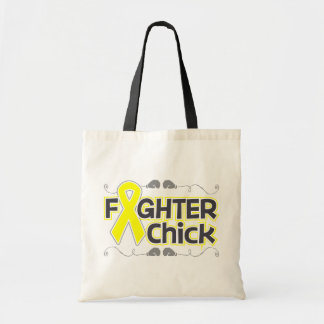 Sarcoma Fighter Chick Budget Tote Bag