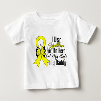 Sarcoma Ribbon My Hero My Daddy Shirts