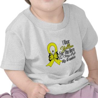 Sarcoma Ribbon My Hero My Grandma T-shirt