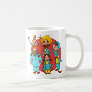 Sardar Ji And Family! Coffee Mug