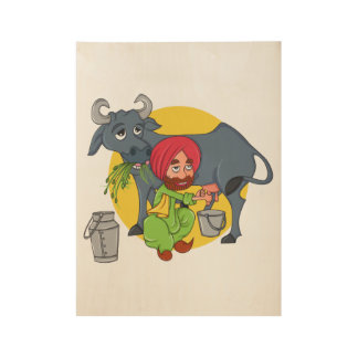 Sardar Ji Wood Poster