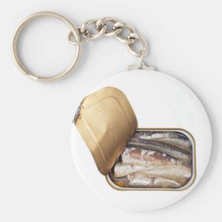 Sardine can key ring